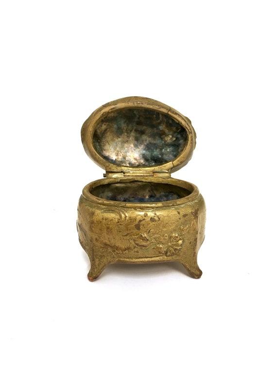 Vintage Antique Art Nouveau Empress Jewelry Box, E