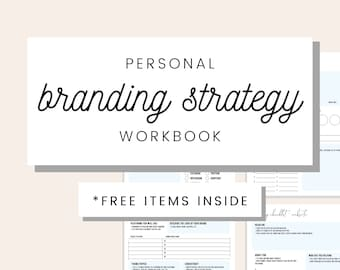 Branding Workbook Etsy