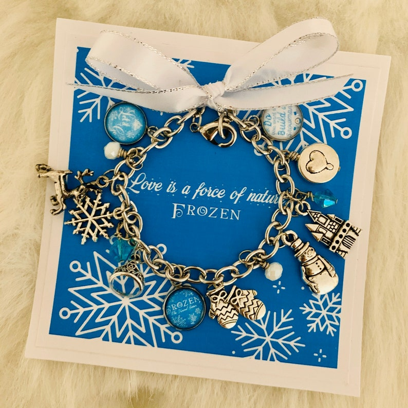 FROZEN The Musical Inspired Charm Bracelet Musical Theatre Pick Your Mini Pendants