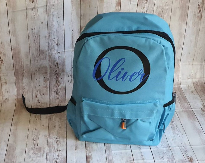 Backpack for toddlers, backpack kids personalised, backpack for girls, backpack with name, back to school gift for boys, backpack for school