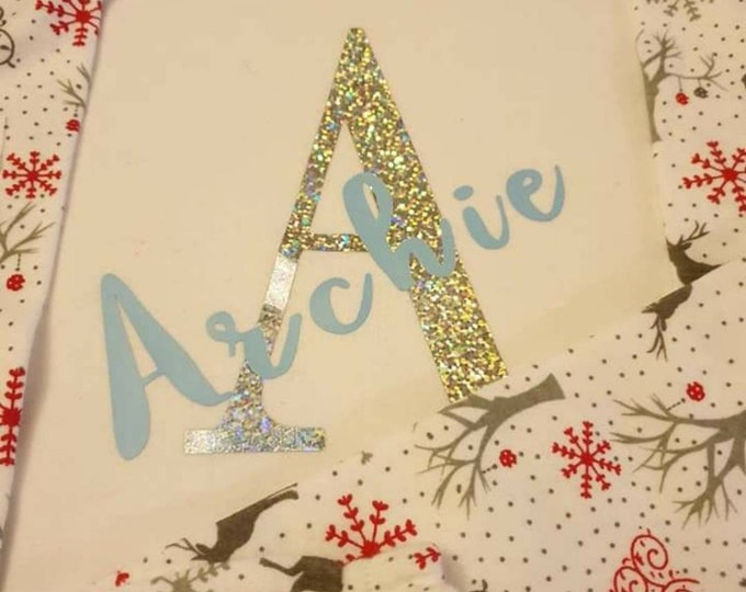 Christmas Eve gift, Christmas pjs for kids, Personalised gift for kids, Christmas gifts for kids, Stocking stuffers, Aunt christmas gifts