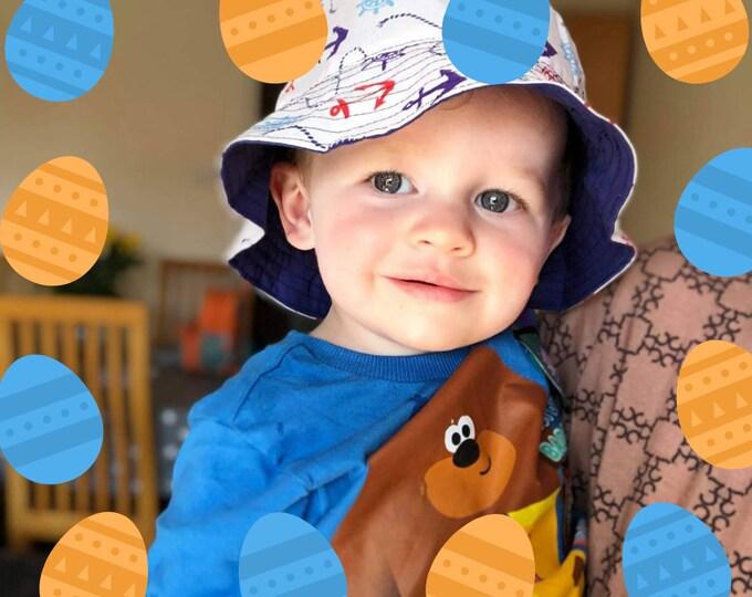 Handmade hat, Kids bucket hat, Baby sun hat, Summer gifts, Vacation gift, Holiday hat, Handmade bucket hat, Childrens hat, Matching hats
