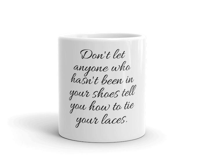 White glossy mug, Coffee mug for gift, Coffee gift for men, Ceramic mug with message, Mug with quotes, Mugs for gifts, Mugs bestsellers