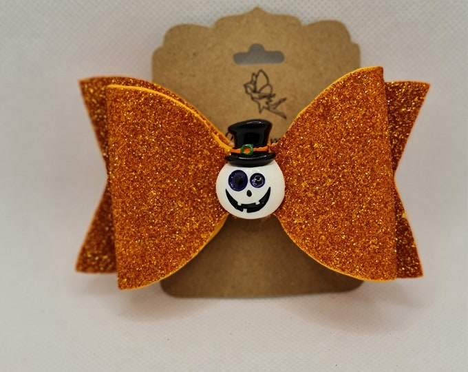 Halloween hair bow, Ghost hair bow, Halloween gifts for girls, Handmade gifts for daughter, Bff gifts, Unique gifts for friends, Nana gifts