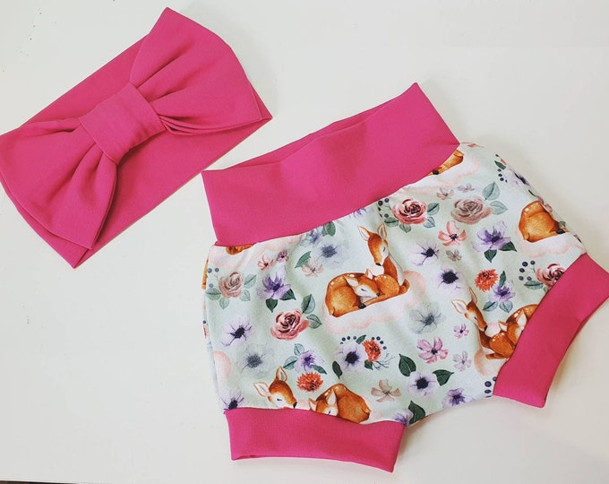 Childrens handmade clothing, Handmade shorts, Handmade baby gifts,Handmade Baby Bloomers, personalised baby gift, baby arrival gift