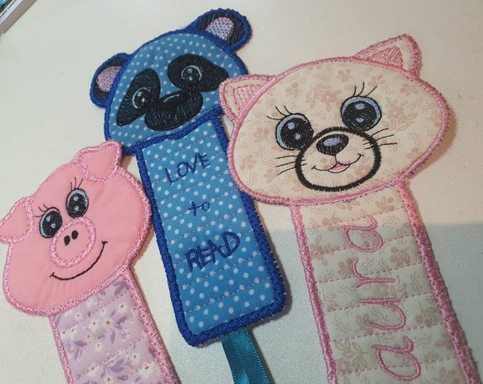 Handmade bookmark, bookmarks for kids, custom bookmark, childrens bookmarks, personalised bookmark, gift for bookworms, readers gifts