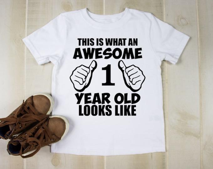 Awesome tshirt, Personalised kids tshirt, Birthday gift for kids, Personalised gift for a kid, Unique best friend gifts, Birthday t shirt uk