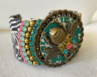 Lenora Dame Bee Kind Cuff Bracelet