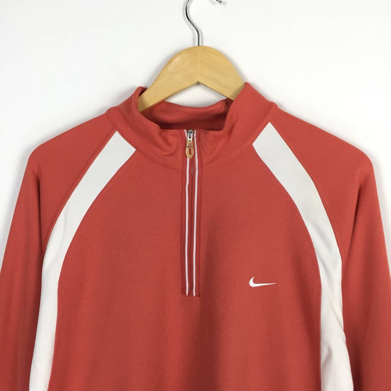 c18240be1cf990 Rare Nike Golf zipped up sweathirt small swoosh logo   air