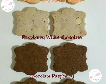 Chocolate Rasperry Roll out cookies