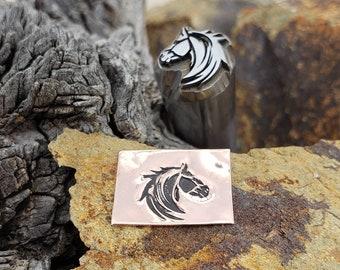 Black Stallion - Metal Stamp