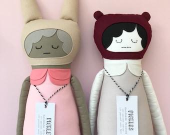 Melody Handmade Bunny Doll