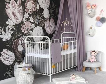 MONO Babybett Kinderbett 70x140 Cm Weiß Oder Grau