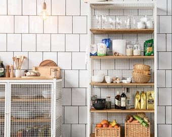 CLATRI rack kitchen shelf bookcase / Bookshelf-shelving unit