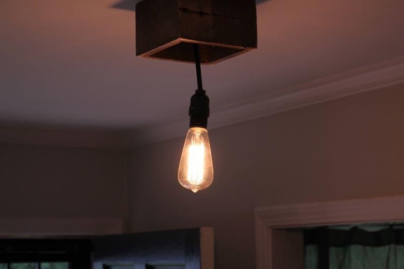 Plafoniere Per Rustico : Luce lampada del pendente rustico plafoniera etsy