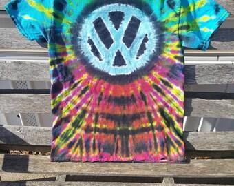 f1a2ee02c497 VW Tie Dye - Hippie Tie Dye - Volkswagen - Festival - VDub