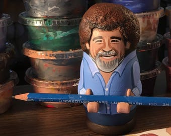 Bob Ross Paintbrush/Pencil Rest