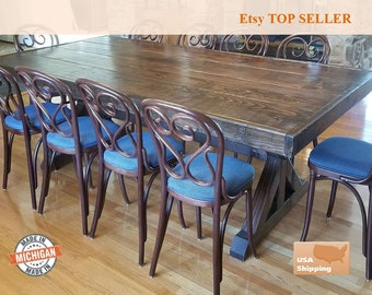 pictures of rustic furniture. Farm Table, Farmhouse Trestle Dine Room  Rustic, Furniture, Vintage, Pictures Of Rustic Furniture