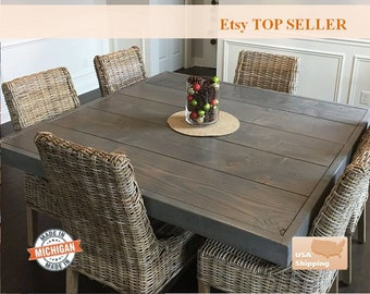 dd3cc5a6ea72 Square dining table