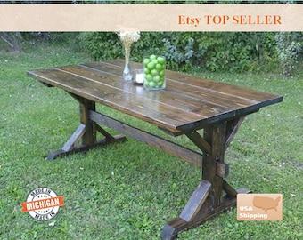 Farmhouse Table Etsy
