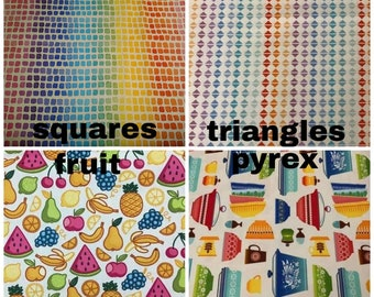 Sandwich Size | Reusable Snack Bags | Zippered Snack Bag READY TO SHIP