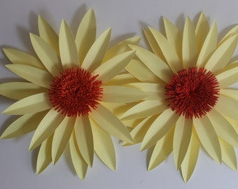 DIY Paper Daisy Tutorial and kit