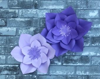 2 Paper Flowers