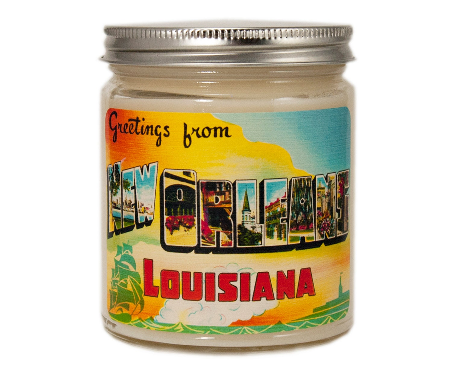 New Orleans Candle New Orleans Gift Homesick Candle Etsy