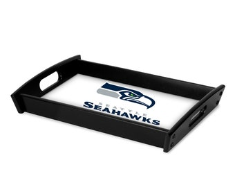 NFL Personalized Serving Tray | Espresso Black