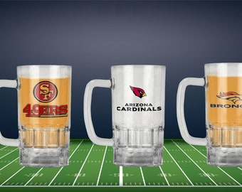 Personalized NFL Beer Stein