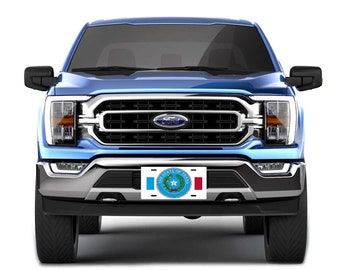 Custom License Plates : Colorful State Seals