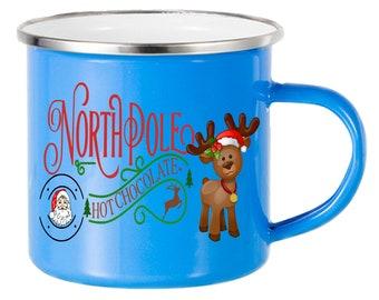 North Pole Hot Chocolate Mug for Kids