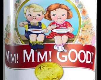 Retro Campbell Soup Mug : hmm hmm good