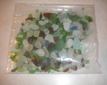 Bagged Lake Erie Beach Glass