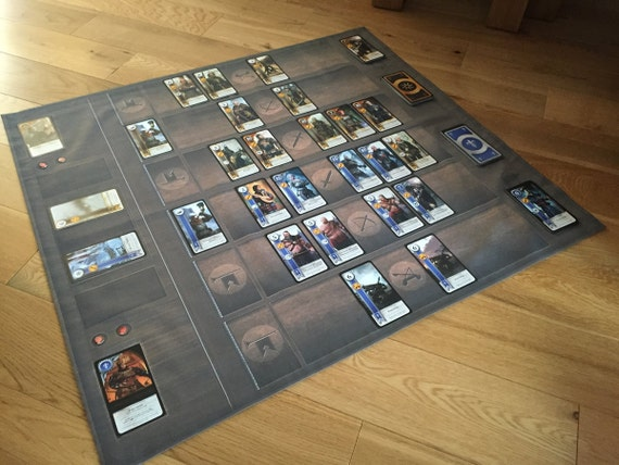 Witcher 3 Gwent Card Playing Surface Mat Cotton Sateen