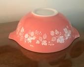 Vintage Pink Gooseberry Pyrex Cinderella Mixing Bowl 444 4 QT
