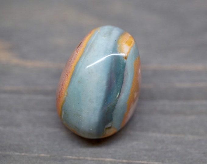 Polychrome Jasper Palm Stone