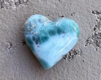 10.1g LARIMAR Puffy Heart