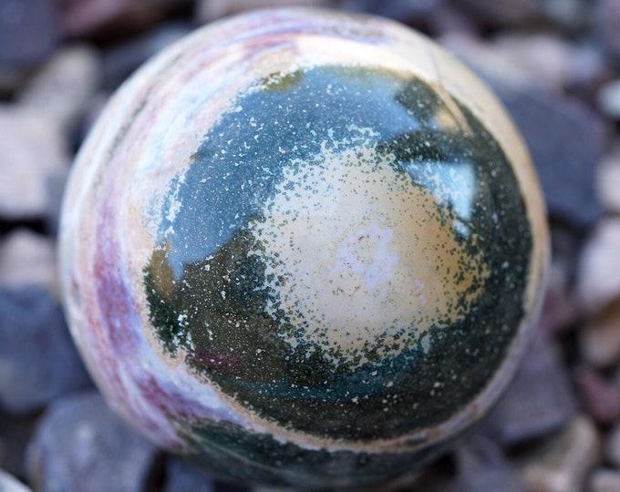 """3.3lb 4.25"""" Spirit Jasper Sphere"""