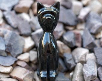 Black Obsidian Cat - Y