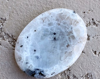 13.6g Rainbow MOONSTONE Worry Stone