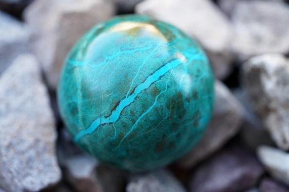 "1.9"" Chrysocolla Sphere"