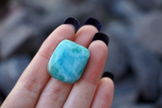 RESERVED FOR LISA - Large Larimar Tumble