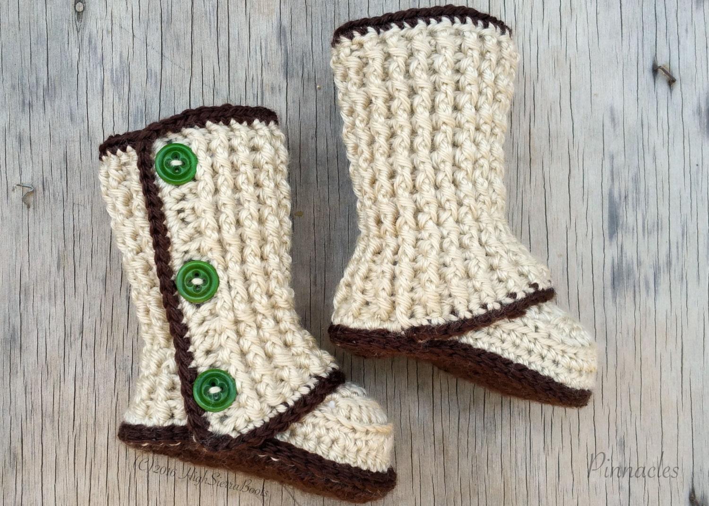 Crochet Booties Pattern Baby Booties Crochet Pattern Etsy