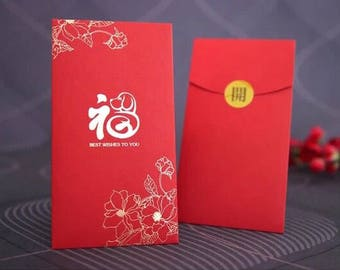10 chinese new year of the dog 2018 red envelopes money envelopes red packets