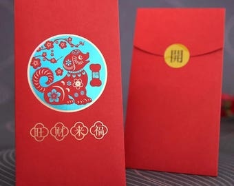 10 chinese new year of the dog 2018 red envelopes money envelopes red packets hong bao