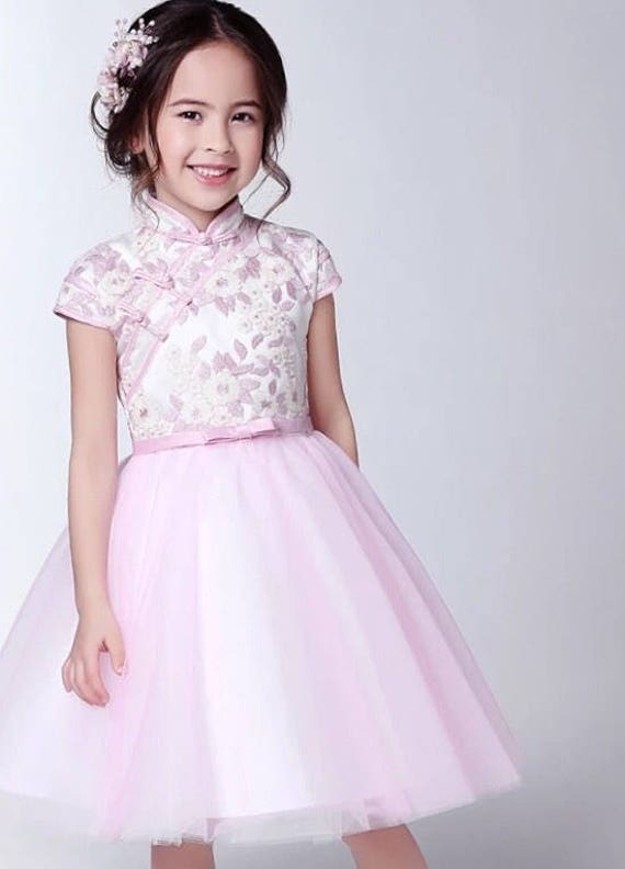 Pink Chinese Dress
