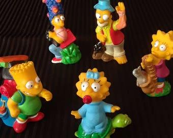 Simpsons Burger King Toys