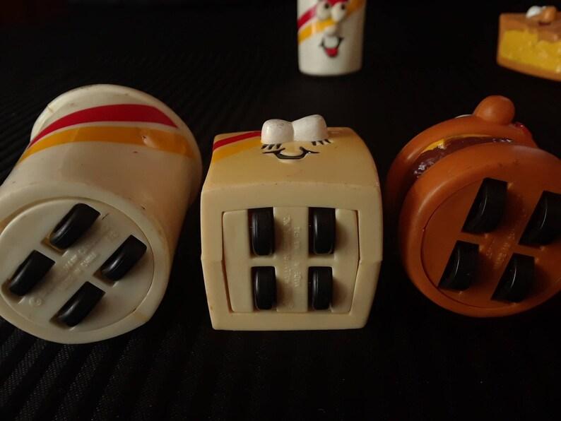 Burger King Toys on Wheels Set of 6