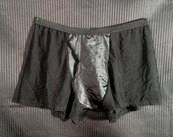 Spandex Mesh Boxer Briefs